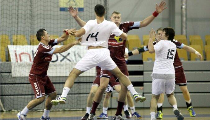 Latvijas handbolisti izcīna otro vietu Rīgas Domes kausā