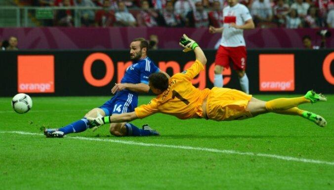 Начинается чемпионат Европы по футболу. Первый матч — Турция против Италии