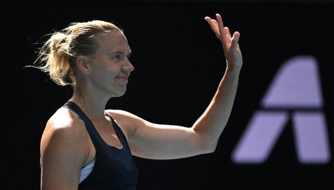 Australian Open: эстонская теннисистка Кайа Канепи выбила действующую чемпионку