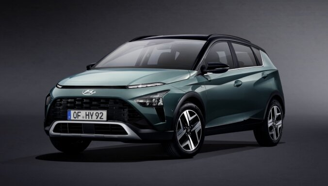 'Hyundai' prezentējis savu vismazāko apvidnieku 'Bayon'