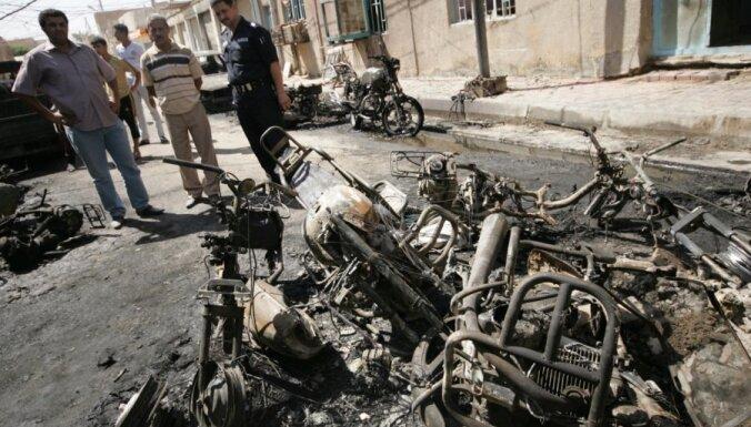 Sprādzienos Irākā 22 bojāgājušie