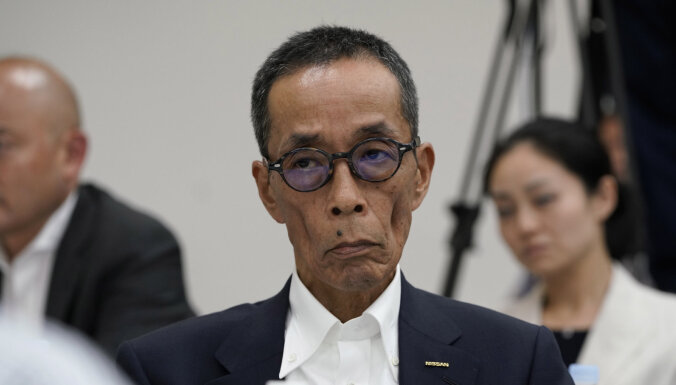 No amata atkāpies 'Nissan' vadītājs Hiroto Saikava