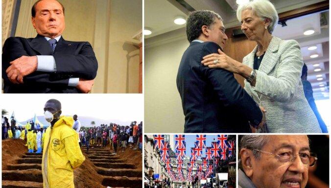 Nedēļa pasaulē: Kongo atgriežas Ebola, Argentīnā – SVF, britu parlamentā – aicinājums sagatavot 'Brexit' atkāpšanās ceļu