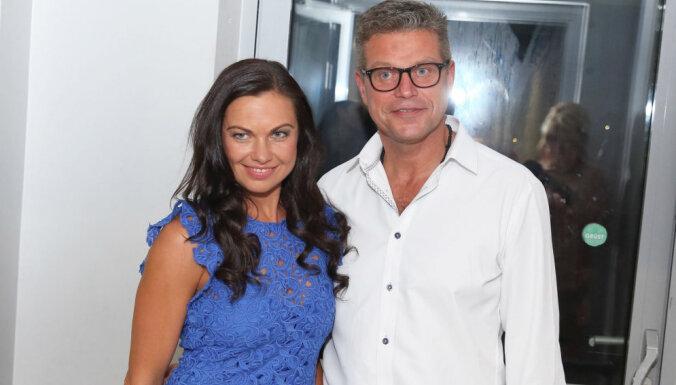 Foto: TV3 darboņi lustējas kanāla pilngadības ballītē
