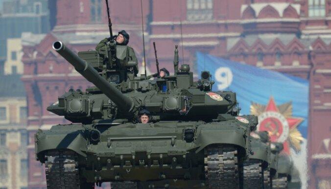 Pētīs PSRS militārā budžeta apjomu Latvijas PSR