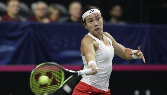 Латвийская теннисистка Севастова получила награду за победу над Сереной Уильямс