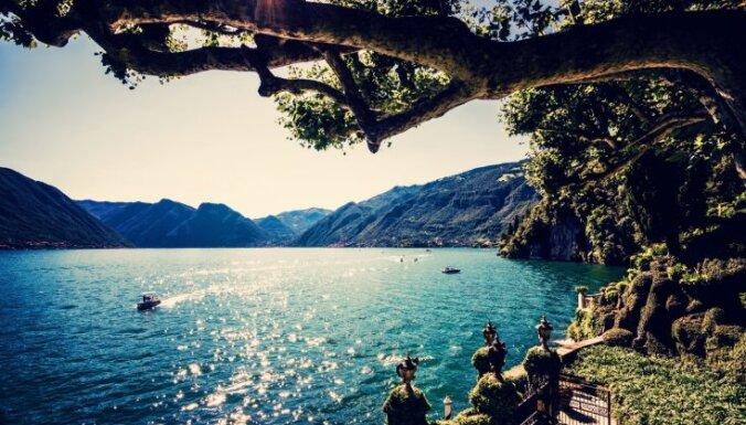 Atpūta kā Ēdenes dārzos: 5 romantiskākie un skaistākie Itālijas ezeri