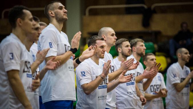 'Ogres' basketbolisti kļūst par līderiem Latvijas-Igaunijas līgā