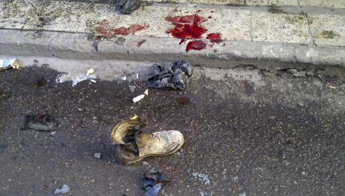Pašnāvnieka spridzinātāja uzbrukumā Bagdādē vismaz seši bojāgājušie