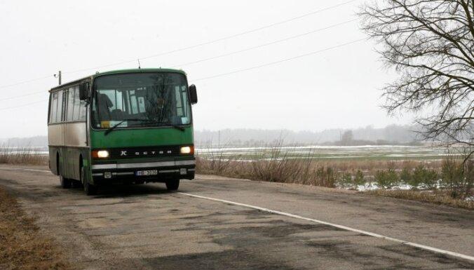 Nākamgad plānots samazināt autobusu reisus Aizkraukles un Jelgavas virzienā