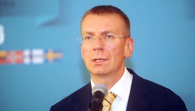 Ārlietu ministrs: vārdam 'drošība' šogad būs īpaši liela nozīme