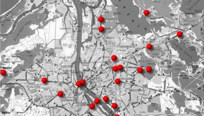 Зивтиньш: гуляющая в Сети карта фоторадаров — старая