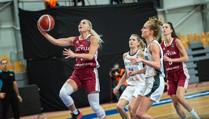 Latvijas sieviešu izlases mērķis – no +12 līdz neprognozējamai cīņai neklātienē