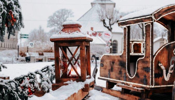 Valdzinoši foto: Tukums ziemas un svētku rotā