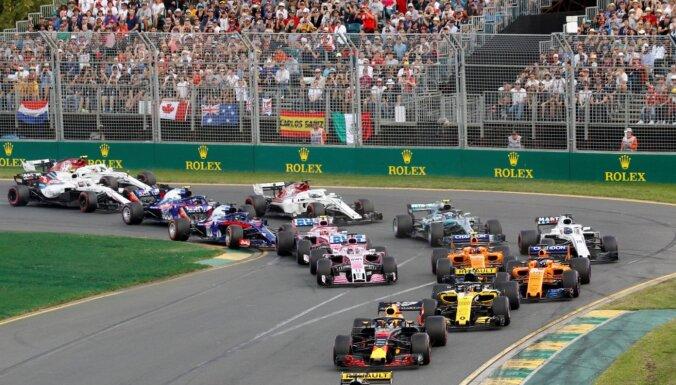 Austrālijas 'Grand Prix' pārceļot uz novembri, F-1 sezona sāksies Bahreinā