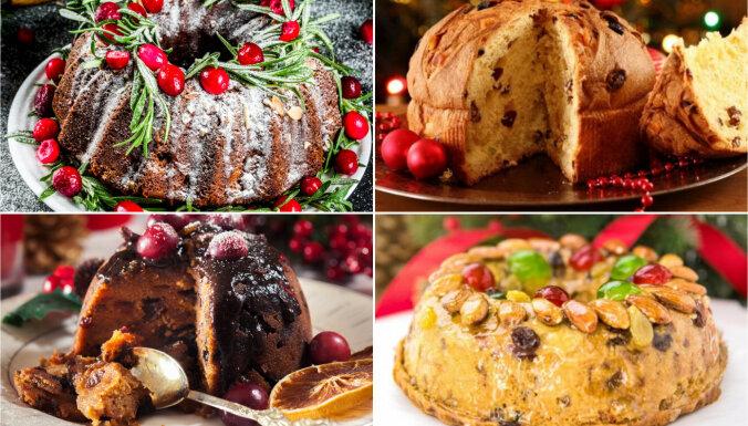 13 Ziemassvētku kēksi un kūkas, kas jācep jau tagad