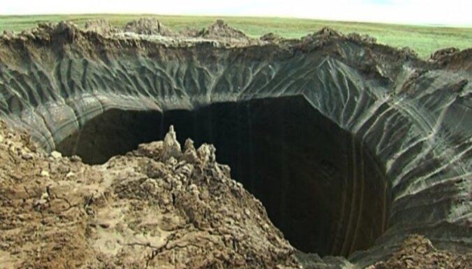 Российские ученые разгадали секрет гигантских воронок на Ямале