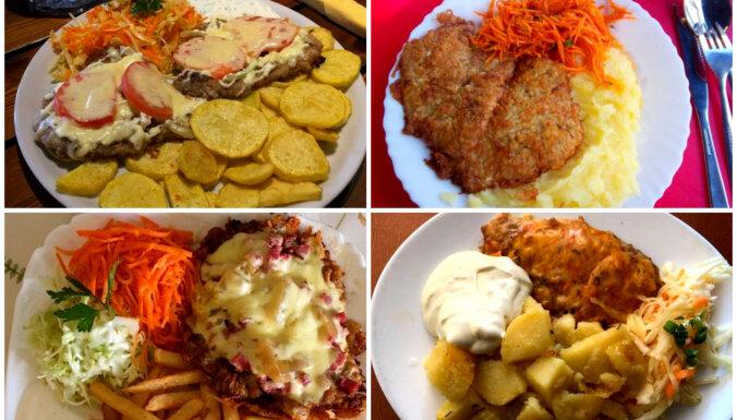 Atrasts Rīgā: 10 ēstuves, kur mieloties ar karbonādi zem 5 eiro