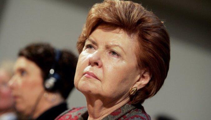 Политики не хотят видеть Вике-Фрейбергу на посту президента