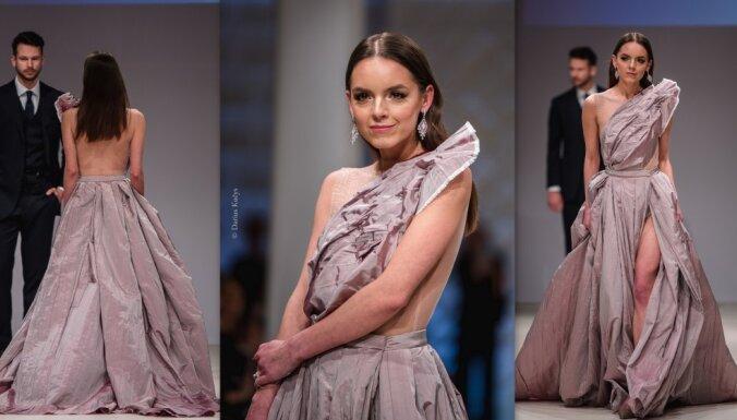 Бриллианты и золото: литовский дизайнер создал свадебное платье стоимостью 100 тысяч евро