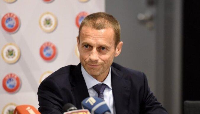 UEFA pagaidām lēmusi nesodīt Eiropas superlīgas klubus