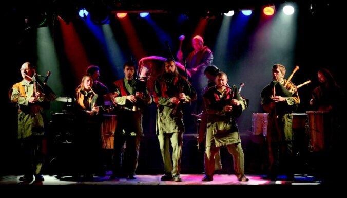 Dūdu un bungu grupa 'Auļi' izdod jubilejas albumu 'Dižducis'