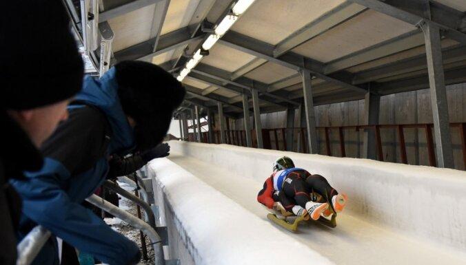 Pasaules kausa posms Siguldā: pirmoreiz kamaniņu sporta vēsturē septiņi uzvarētāji