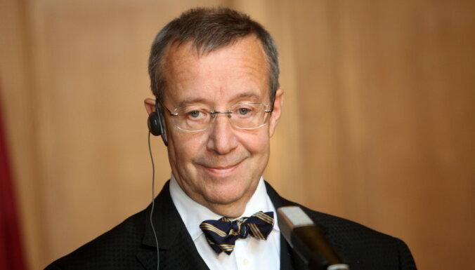 Президент Эстонии похвалил Ринкевича за смелость