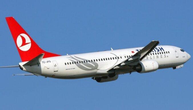 'Turkish Airlines' no Rīgas uz Stambulu lidos biežāk