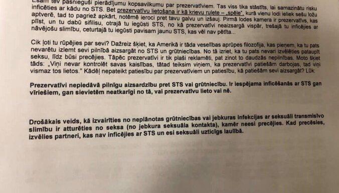 Prezervatīvi kā krievu rulete – sabiedrība sašutusi par bioloģijas stundu 3. ģimnāzijā