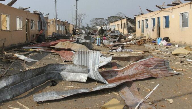 Bojāgājušo skaits sprādzienos Ekvatoriālajā Gvinejā pieaudzis līdz 98