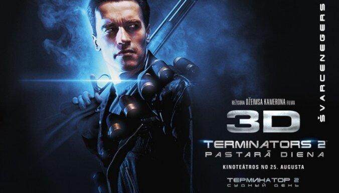 Noslēdzies konkurss par filmu 'Terminators 2: Pastarā diena 3D'