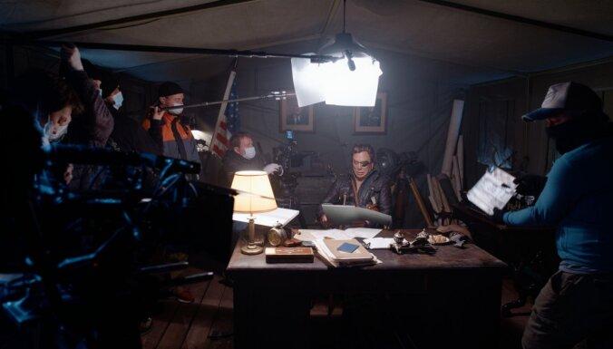 ФОТО, ВИДЕО: В Латвии сняли военный триллер с голливудскими актерами
