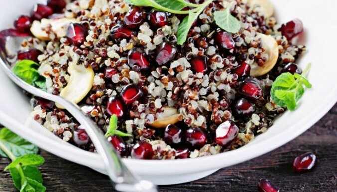 Vērtīgā kvinoja - kā pagatavot garšīgi?