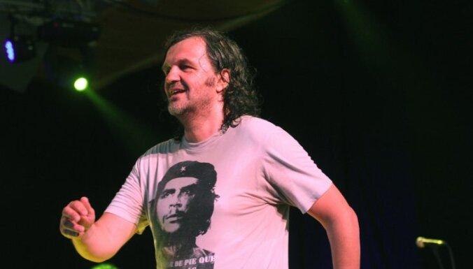 Fotoreportāža: Emira Kusturicas koncerts 'Dzintaros'