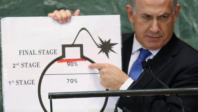 Izraēlā sākta Netanjahu ģimenes tēriņu izmeklēšana