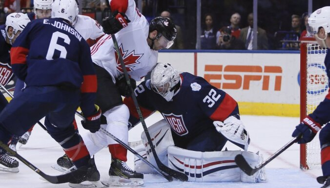 Hockey: World Cup of Hockey-Team Canada vs Team USA