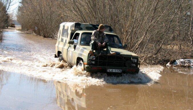 Риск весеннего паводка в Латвии пока ниже, чем в предыдущие годы