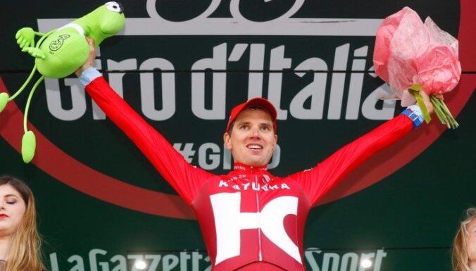 Igaunis Tāramē uzvar 'Giro d'Italia' priekšpēdējā posmā