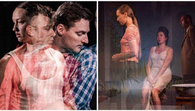Foto: Nacionālajā teātrī iestudēta Regīnas Ezeras 'Aka'
