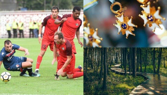 'Delfi plus': Manipulācijas futbolā, izcilību trūkums un tūrisms šovasar
