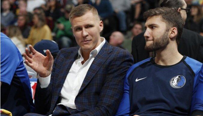 'Mavericks' kluba vadība: Porziņģis nonāca 'nepareizajā vietā, nepareizajā laikā'