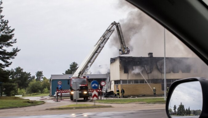 LTV: Пожар на складе Mikrotīkls в Риге двухлетней давности был связан с крупным грабежом