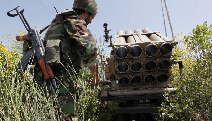 Prese: Izraēlas uzlidojumā Sīrijā nodarīti postījumi bioloģisko un ķīmisko ieroču pētniecības centram