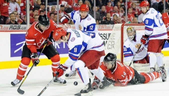 На старте МЧМ сборная России забросила 11 шайб норвежцам