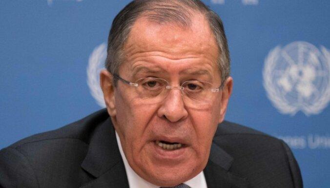Лавров — о возможной передаче Японии части Курил и войне с Украиной