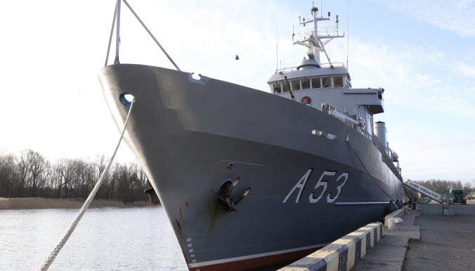 Liepājā ieradīsies NATO pastāvīgā jūras pretmīnu grupa
