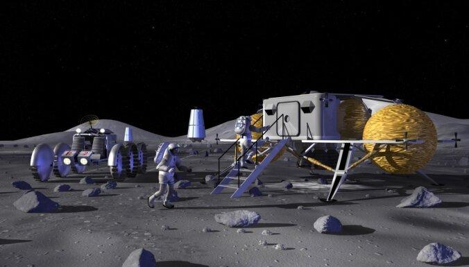 Kosmosā nekas nav atkritumi: pēta čuru izmantošanu Mēness bāzu būvniecībā