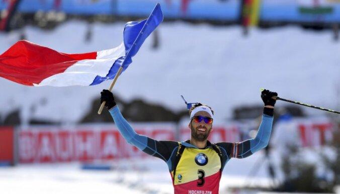 France winner Martin Fourcade
