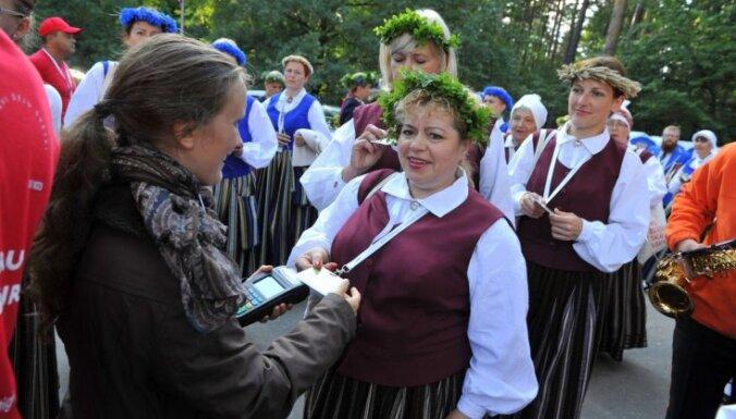 Dziesmu svētku rīkotāji iesaka uz noslēguma koncertu ierasties laikus un ģērbties silti